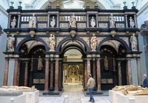 Het zogenaamde oxaal van de kathedrale Sint-Janskerk in Den Bosch (foto Behoud Blauwe Golven Arnhem)