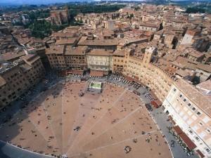Piazza del Campio te Siena (foto Behoud Blauwe Golven Arnhem)