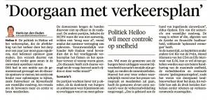Alkmaarse Courant, 19 oktober 2017