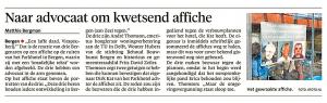 Alkmaarse Courant, 28 oktober 2017