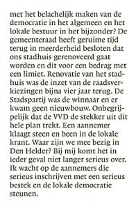 Helderse Courant, 21 oktober 2017
