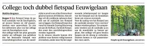 Alkmaarse Courant, 3 november 2017