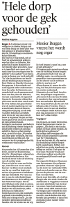 Alkmaarse Courant, 9 november 2017