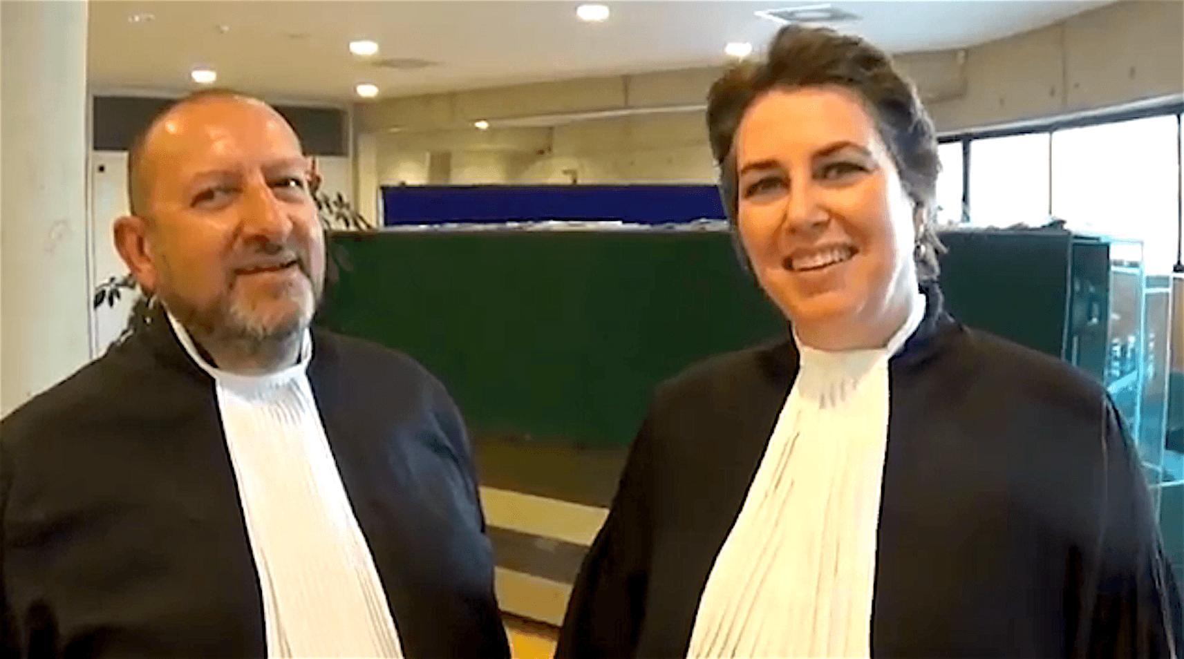 Benno Friedberg & Judith Mahn (foto YouTube)