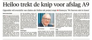 Alkmaarse Courant, 23 november 2017