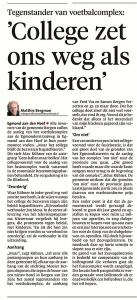 Alkmaarse Courant, 21 november 2017