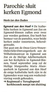 Alkmaarse Courant, 21 december 2017