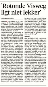 Alkmaarse Courant, 16 december 2017