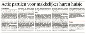 Alkmaarse Courant, 19 januari 2018