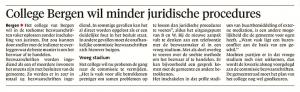 Alkmaarse Courant, 2 februari 2018
