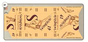 """Abbildung 21 Bastelanleitung für Zigarettenschachtel im """"Swing-Style"""""""