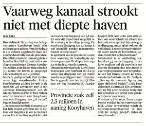 Helderse Courant, 8 maart 2018