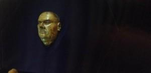 Het dodenmasker van Luther (foto isgeschiedenis.nl)