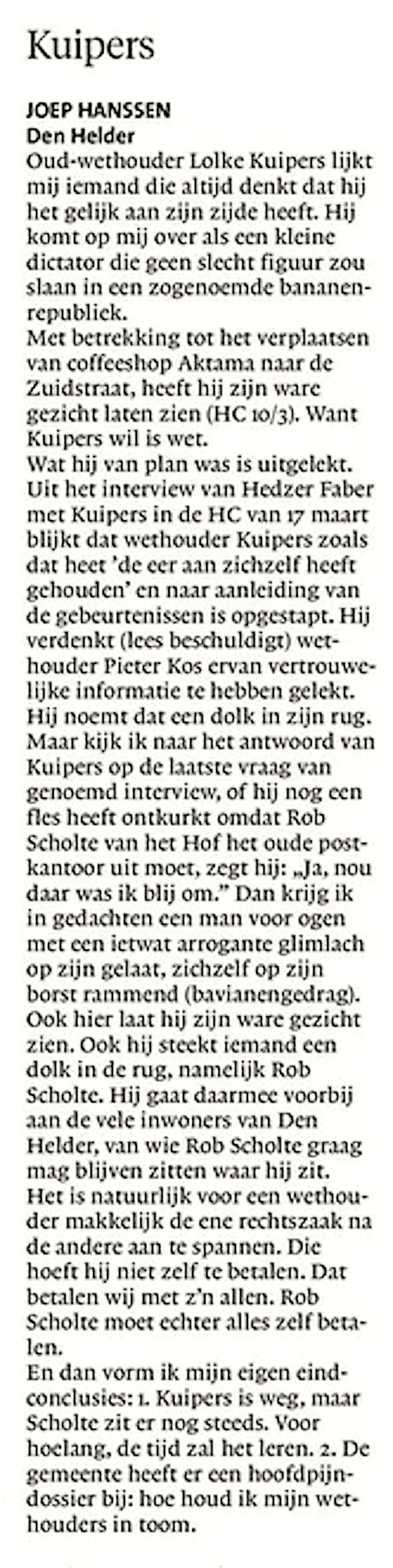 Helderse Courant, 24 maart 2108