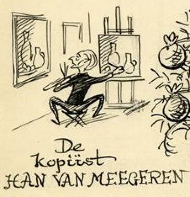 De kopiïst Han van Meegeren