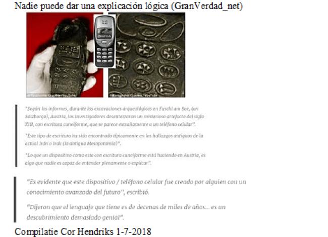 Compilatie Cor Hendriks - Nadie puede dar una explicación lógica (GranVerdad net)