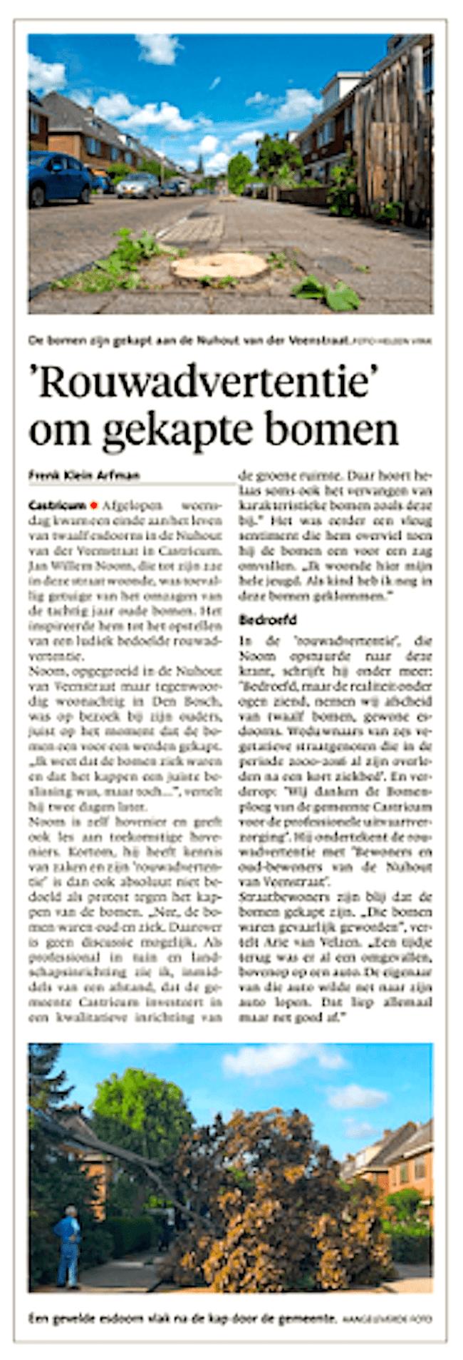 Alkmaarse Courant, 18 augustus 2018