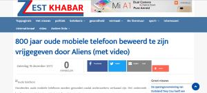 Screenshot zestkhabar vertaald