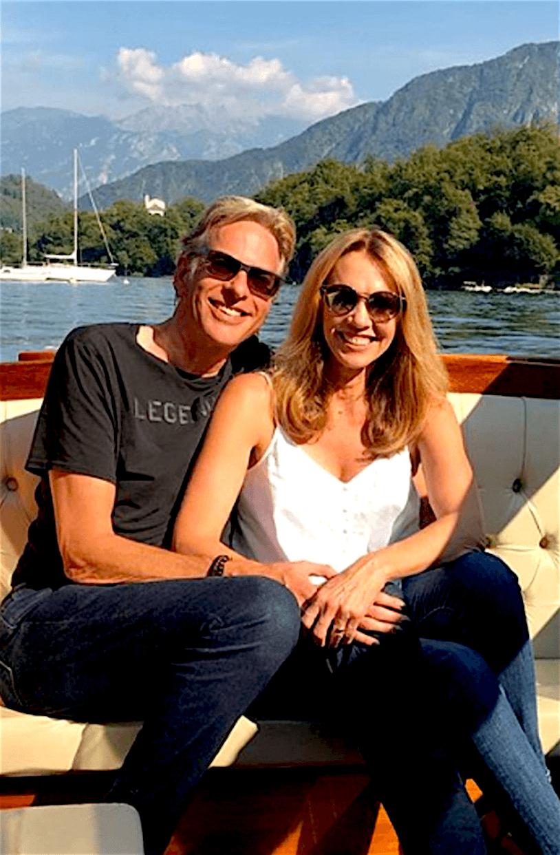 Adam Curry & Tina Snider (foto Instagram)