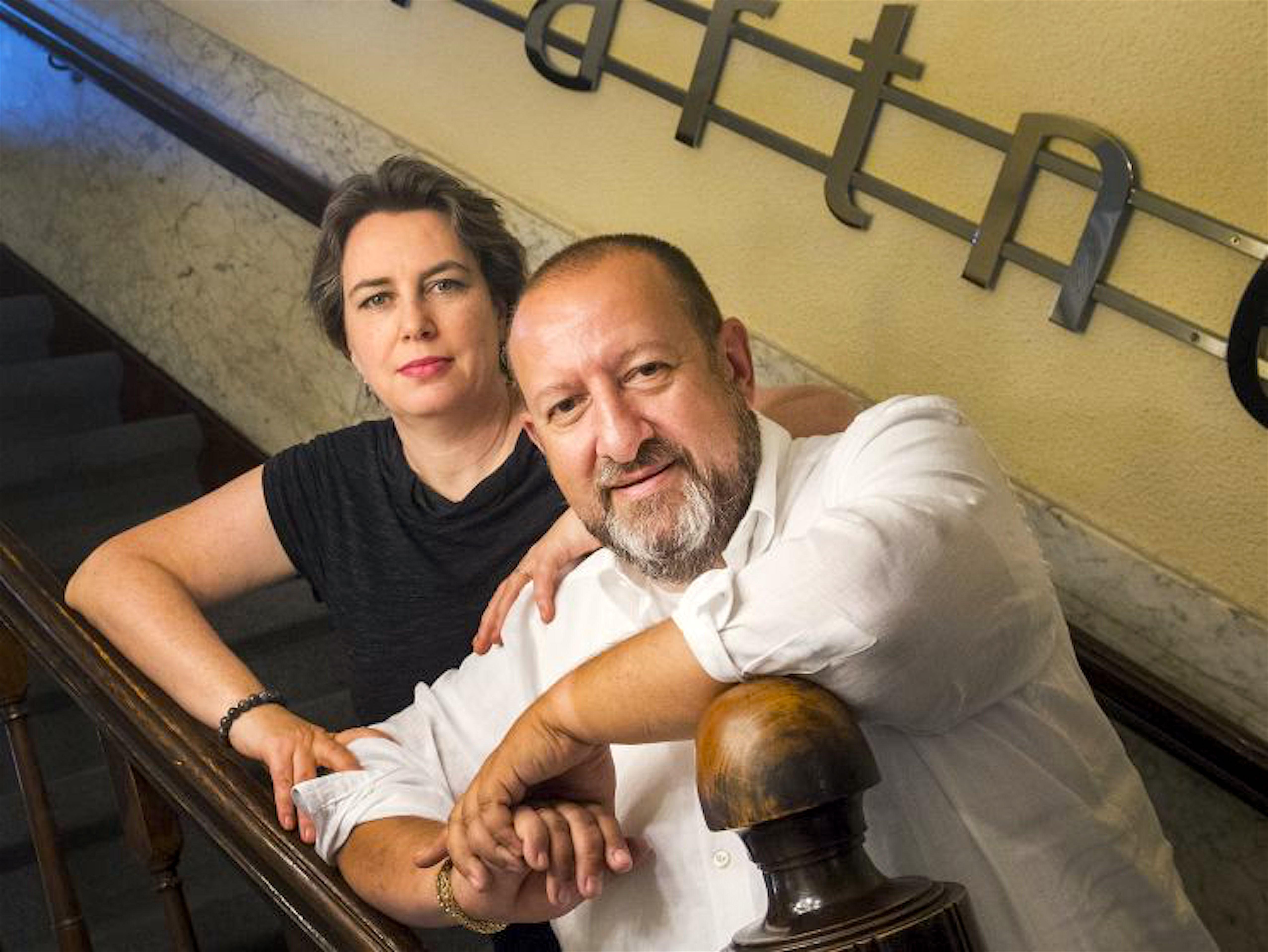 Judith Mahn & Benno Friedberg, de advocaten van Rob Scholte (foto LinkedIn)