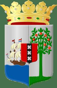 Opvallend is dat de grootste E-gaming provider Antillephone het wapenschild van Curacao met alle typisch Nederlandse kenmerken gebruikt als het logo van hun bedrijf (foto KKC)