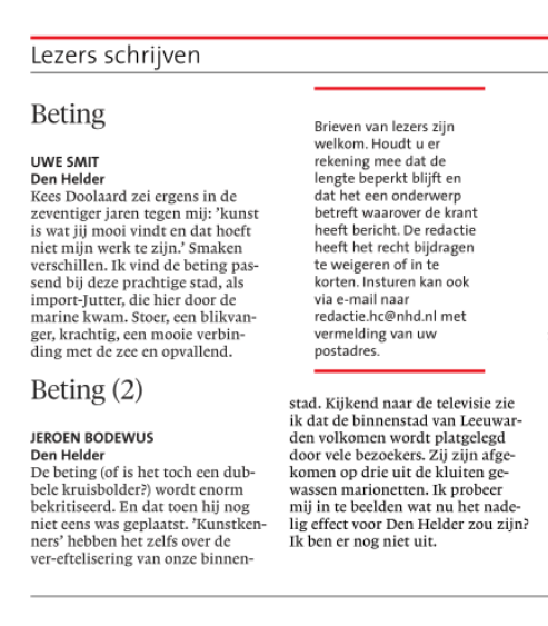 Helderse Courant, 1 september 2018