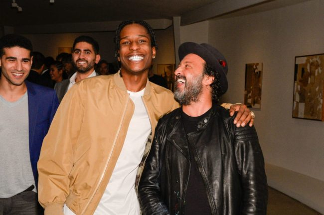 ASAP Rocky and Mr. Brainwash at the 2015 Guggenheim International Gala Pre-Party made possible by Dior (foto Patrick MacMullan:PMC)