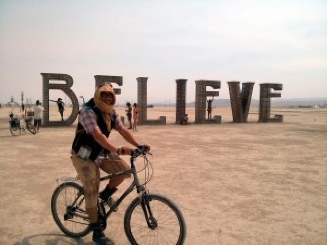 Believe, Burning Man 2013, Black Rock, USA (foto Wikimedia)