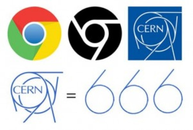 CERN logo 666 (foto Before It's News)