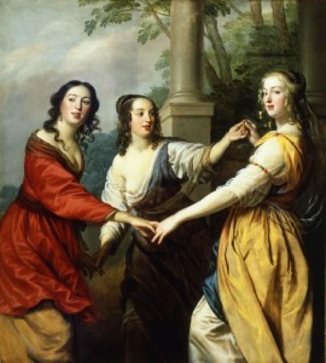 Gerard van Honthorst - De drie Gratiën (Slot Zuylen)