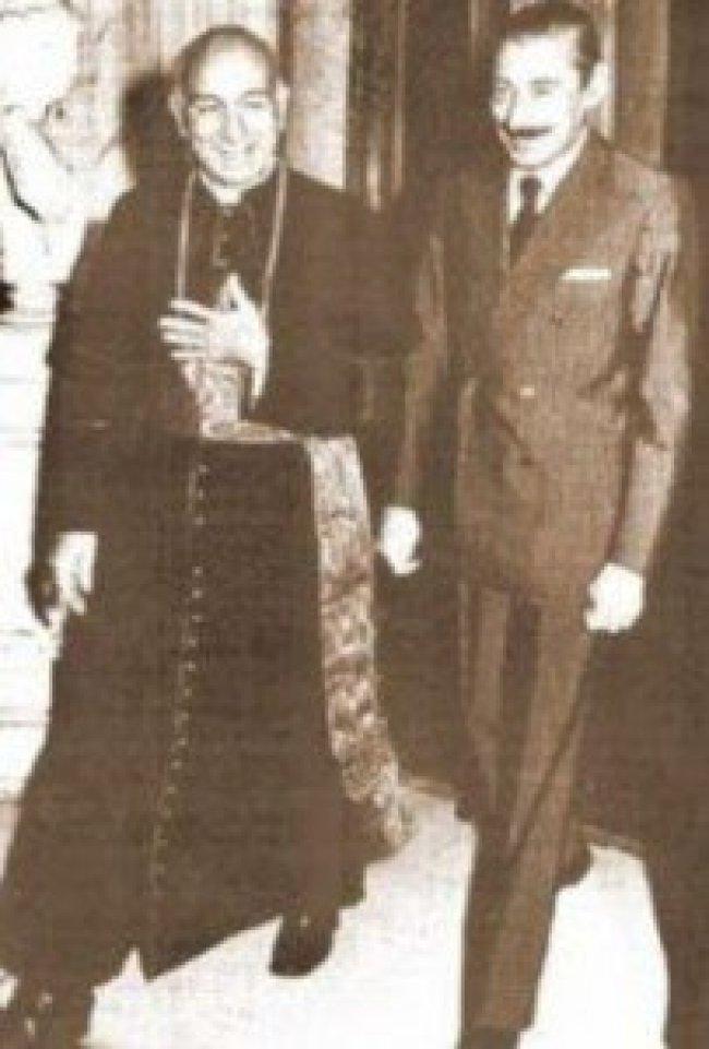 Jorge Maria Bergogliov &b Francis Videla (foto Global Research)