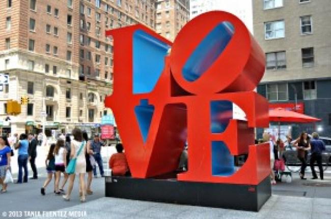 Love New York (Robert Indiana, foto Tania Fuentez)