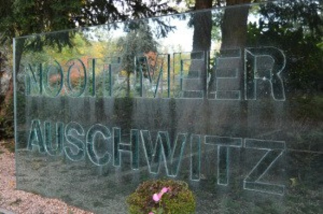 Nooit Meer Auschwitz (foto Kamp Holocaust)