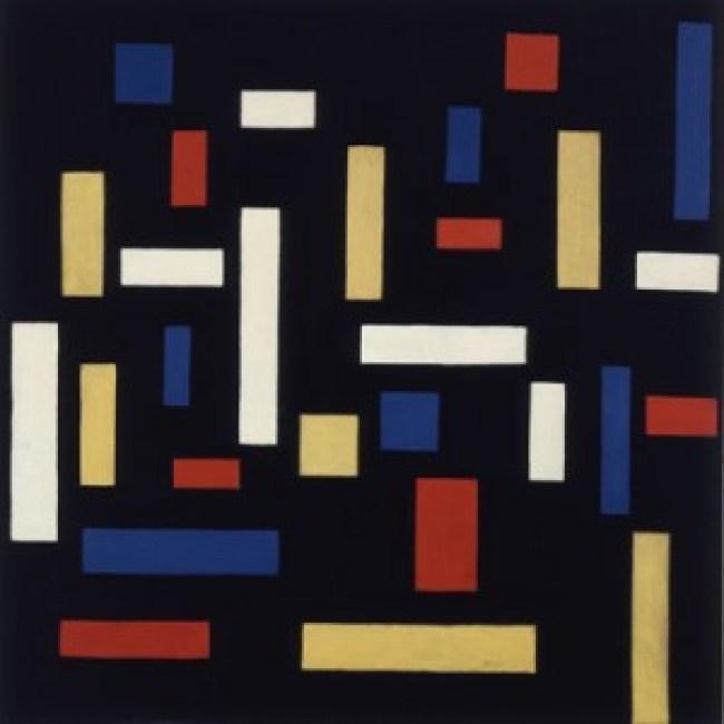 Theo van Doesburg - Composition VII De drie Gratiën