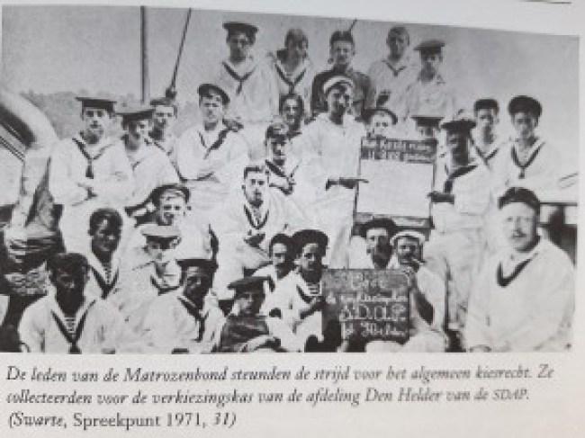 Leden van de Matrozenbond (foto Solidariteit)