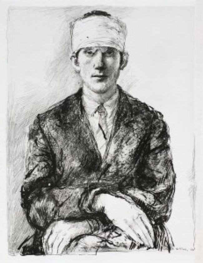 Aat Veldhoen - Portret van Barry Huges