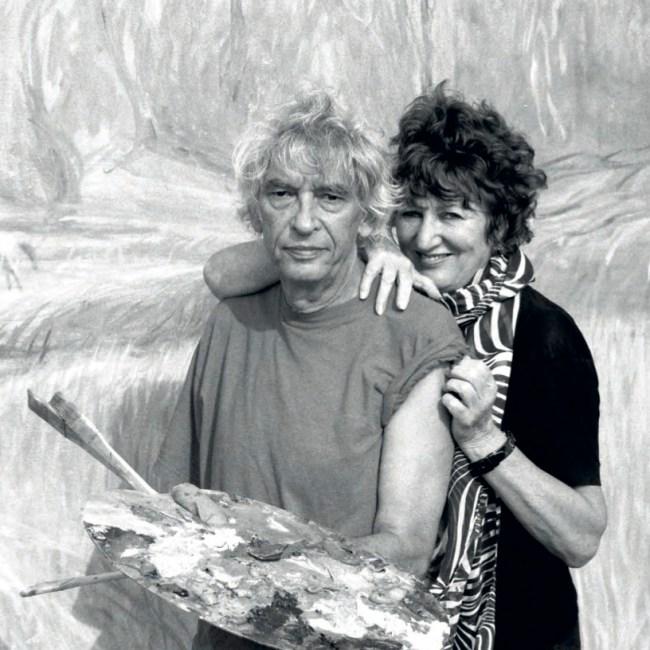 Aat Veldhoen en Hedy d'Ancona