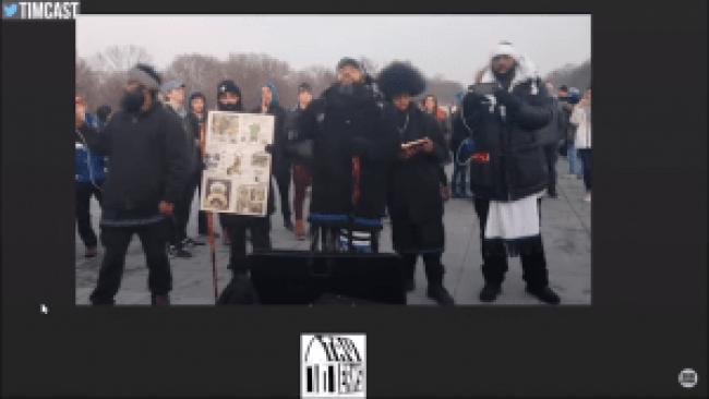 Black Hebrew Israelites shouting - You give faggots rights