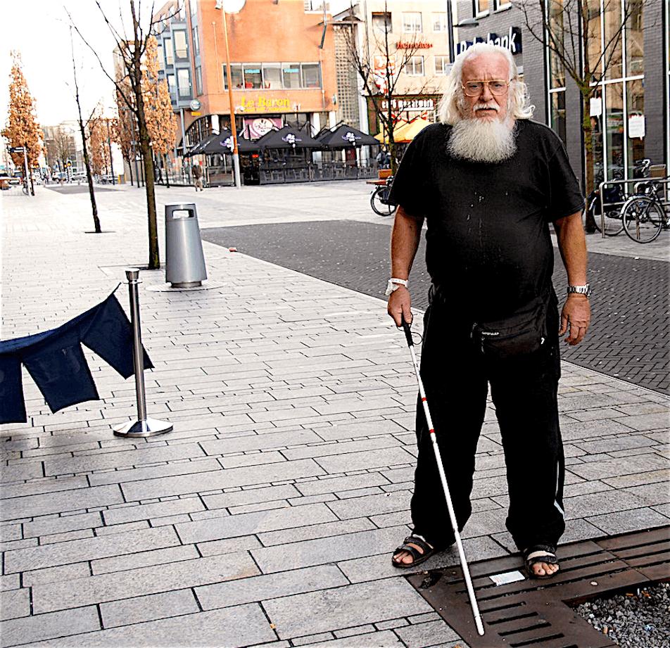 Eef Hoos in Almere (foto Misdaadjournalist)