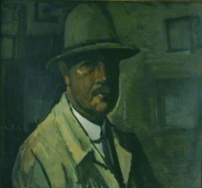 Gerrit van Blaaderen - Zelfportret