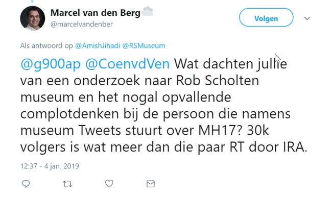 Marcel van den Berg tweet (2)