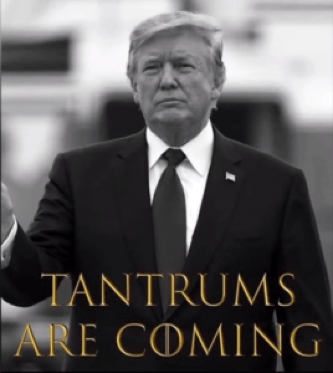 Tantrums are coming (Jenny Hatch 7-1-19)