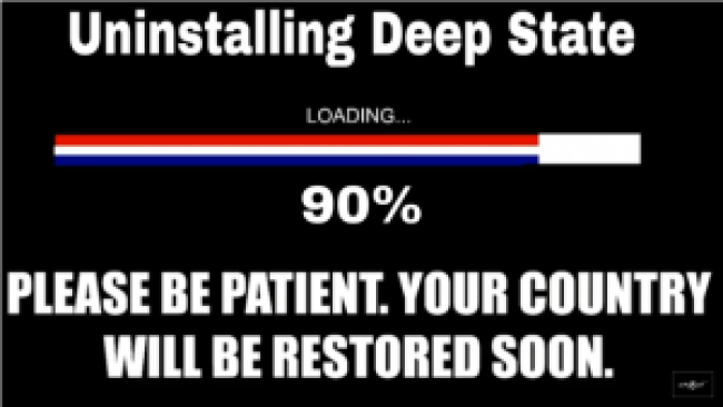 Uninstalling Deep State (SpaceShot76 29-9-18)