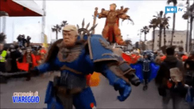 Trump action hero
