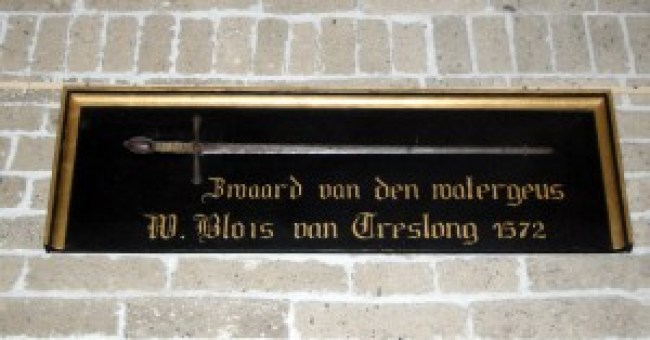 Zwaard Willem van Blois van Treslong