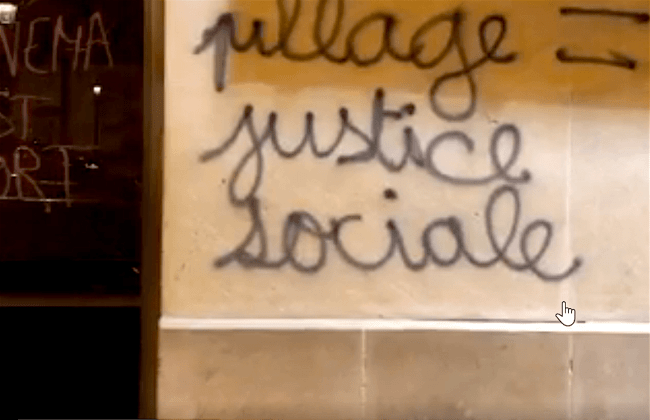 Pillage Justice Sociale
