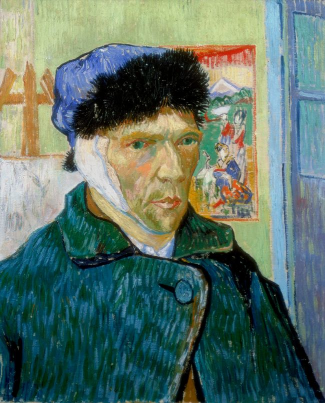 'Self-Portrait with Bandaged Ear', 1889. Artist: Vincent van Gogh