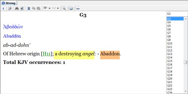 A destroying angel – Abaddon