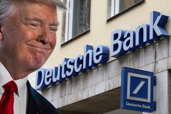 pResident Donald J. Trump-Drumpf & Deutsche Bank (foto Tom Heneghan)
