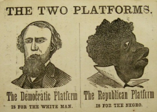 Democrat Party media savaged President Abraham Lincoln and his Republican Party supporters—just like they're doing to President Trump today (1)
